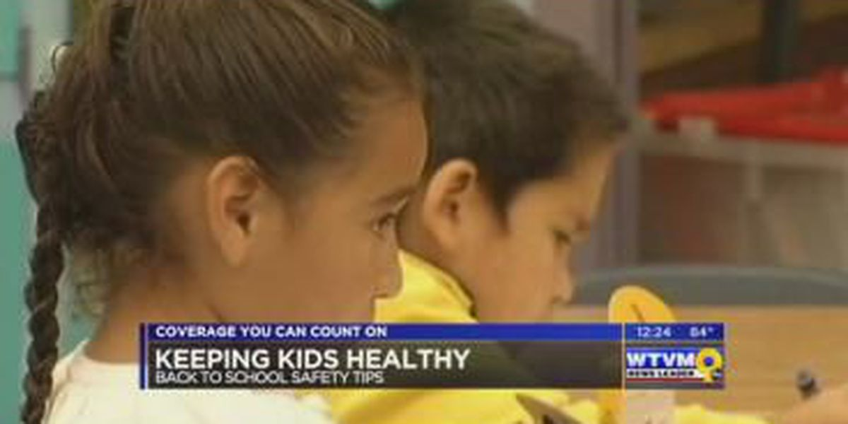 SEGMENT: Kids exposed to millions of germs during the school year