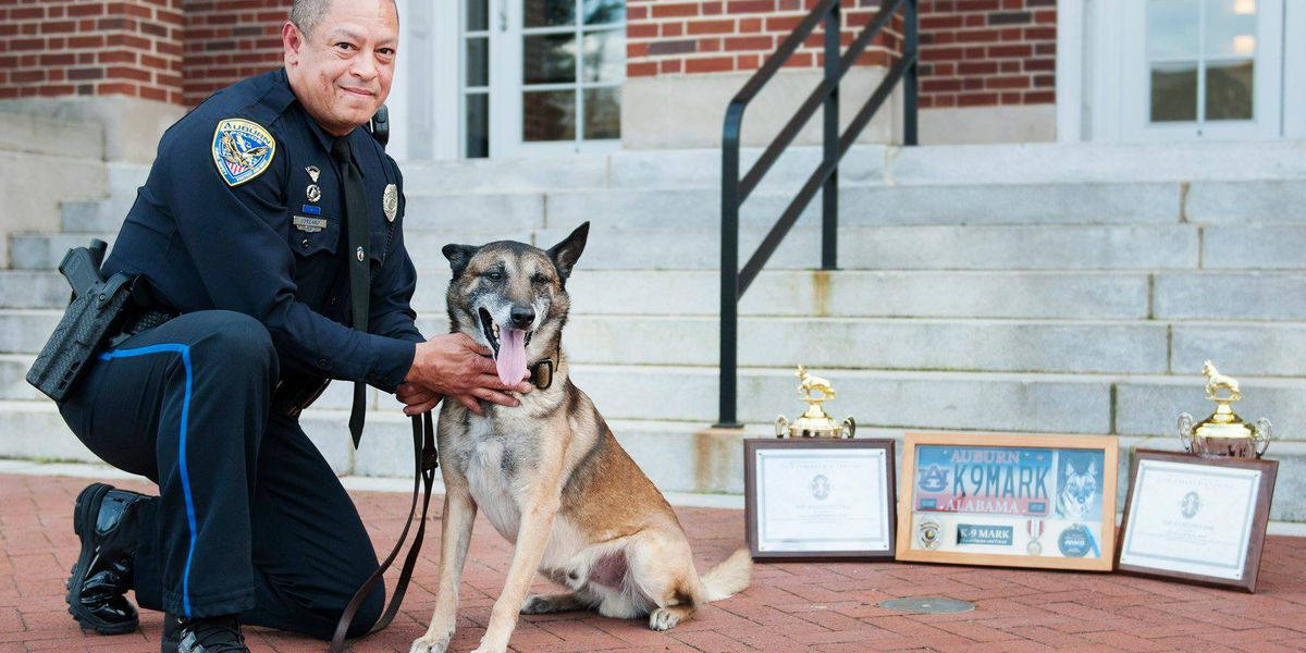 Officer, K-9 duo receive top awards at Dothan K-9 seminar