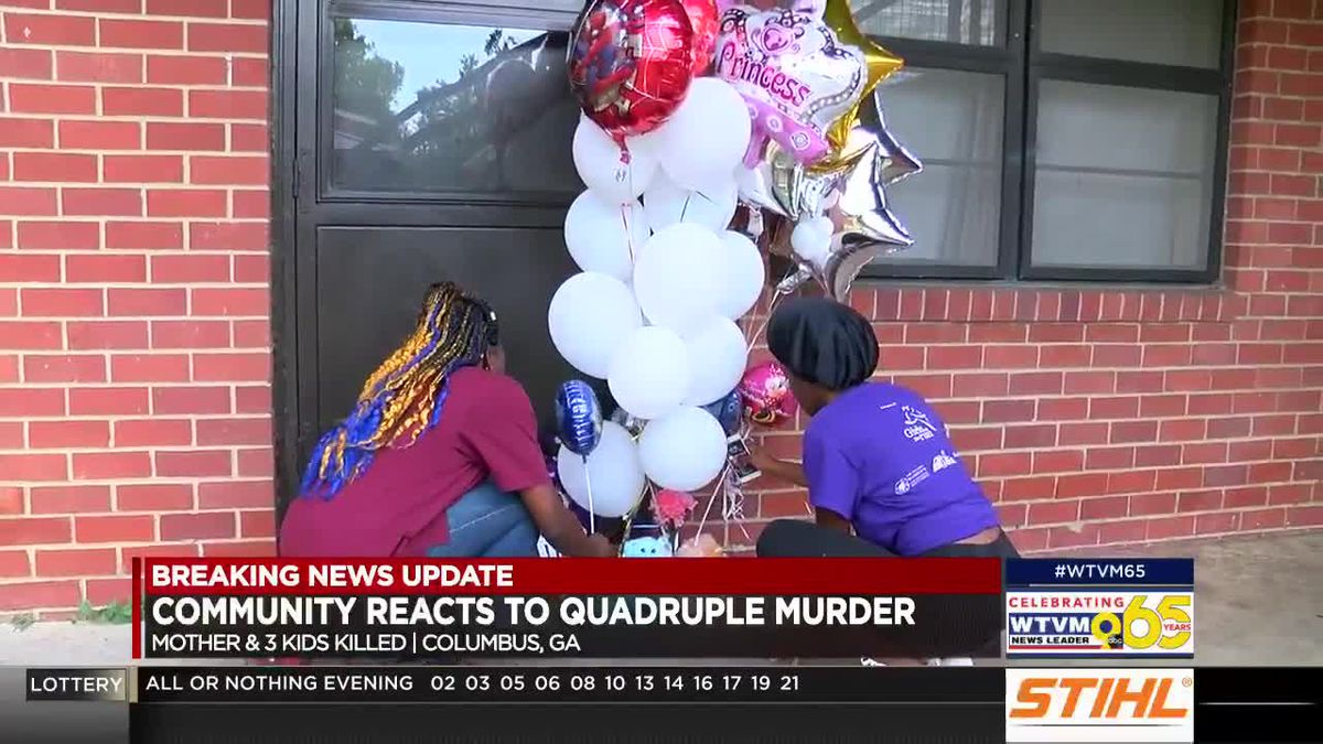 Community reacts to slaying of a mother, three children at Elizabeth Canty apartments