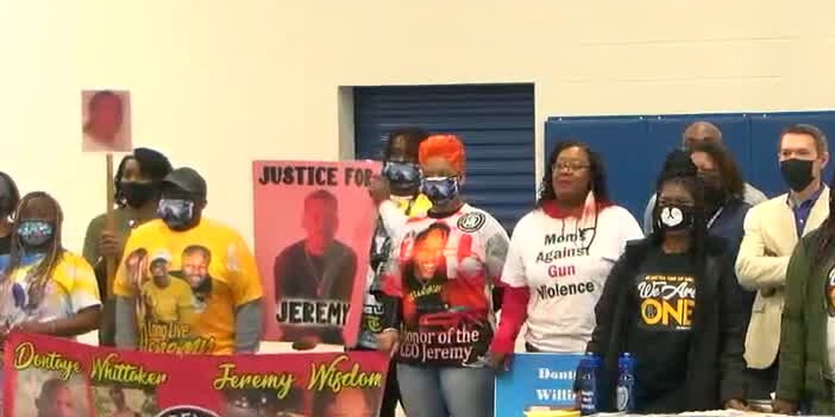 Local groups, city officials march against gun violence