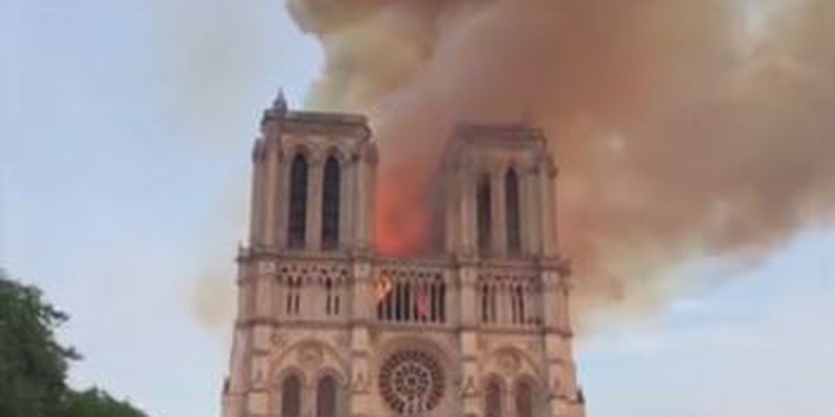 Teacher and college professor in Columbus share thoughts on Notre Dame Cathedral fire in Paris