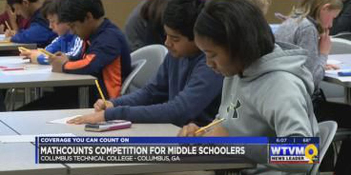 Columbus middle school students compete in MATHCOUNTS competition