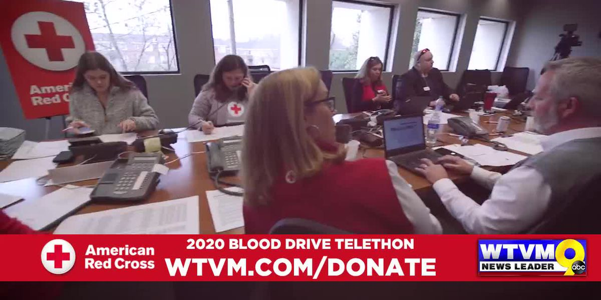 Chattahoochee Valley smashes goal for WTVM Blood Drive Telethon