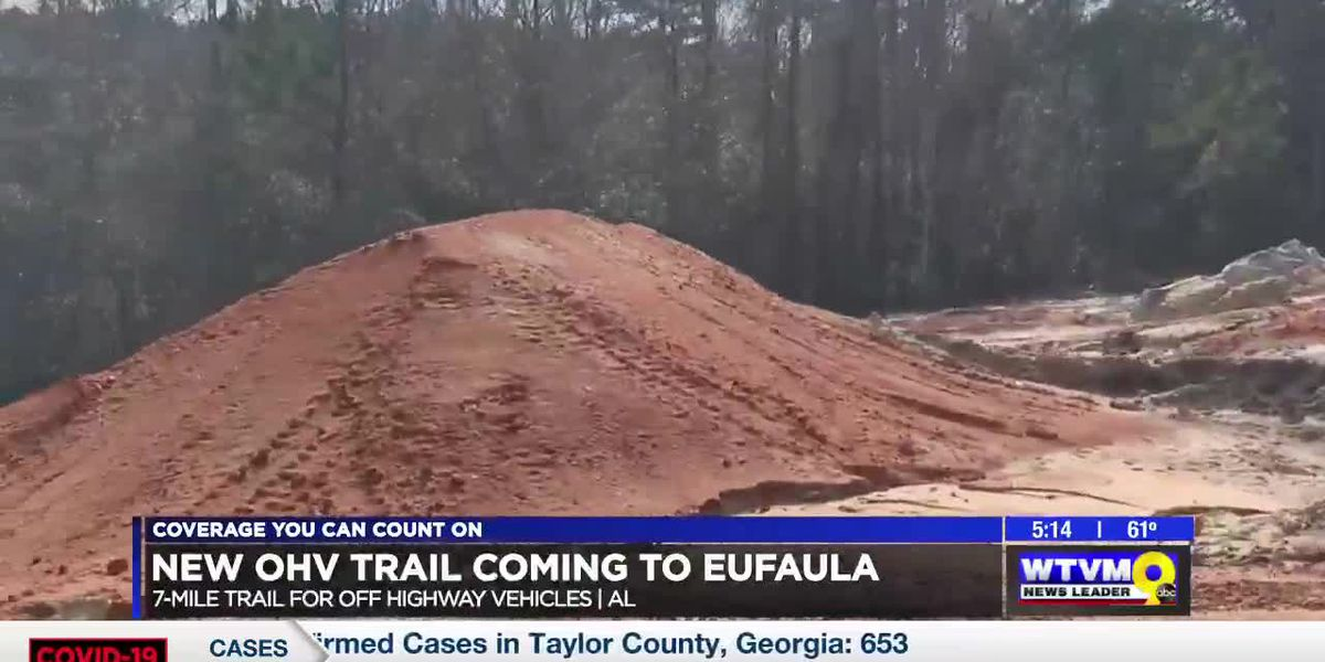 New 7-mile trail for off-highway vehicles coming to Eufaula