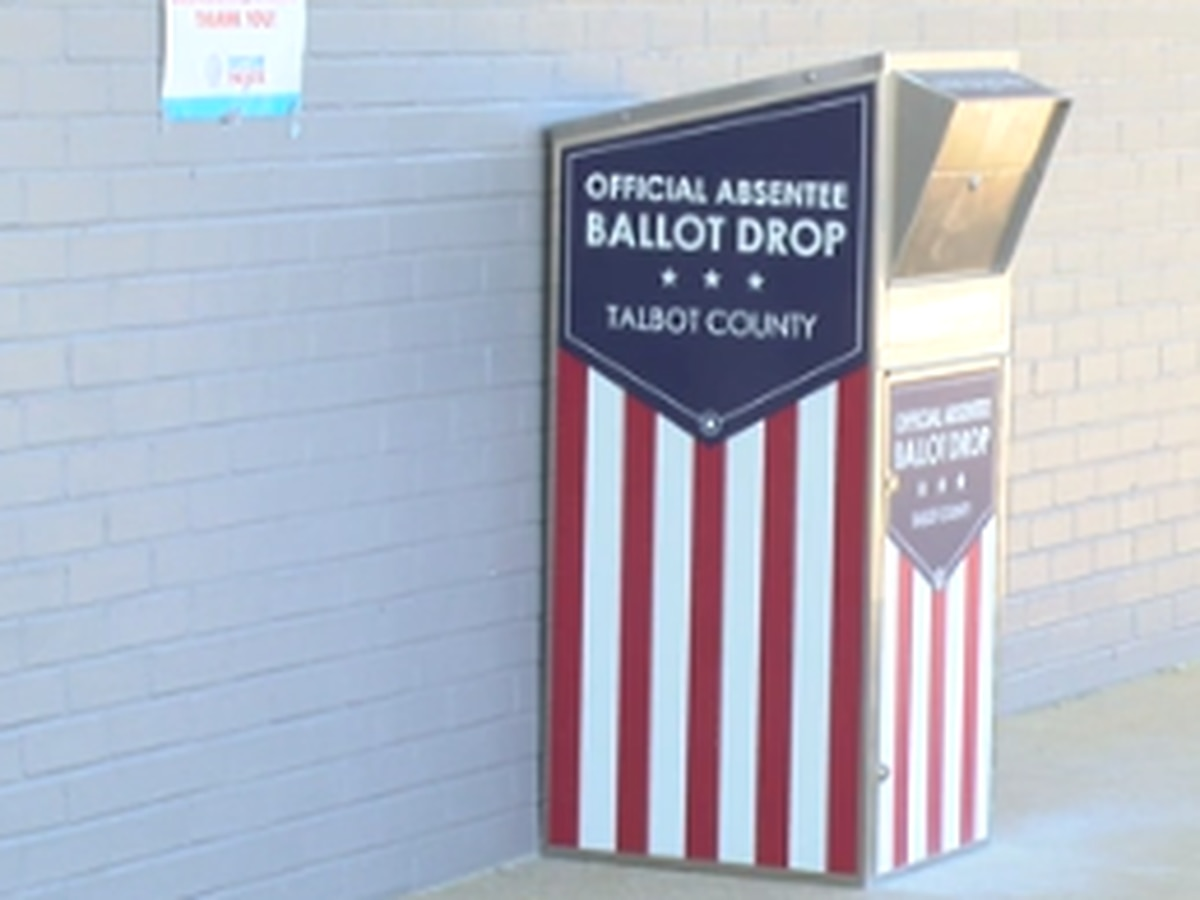 Talbot County seeing record early voting numbers