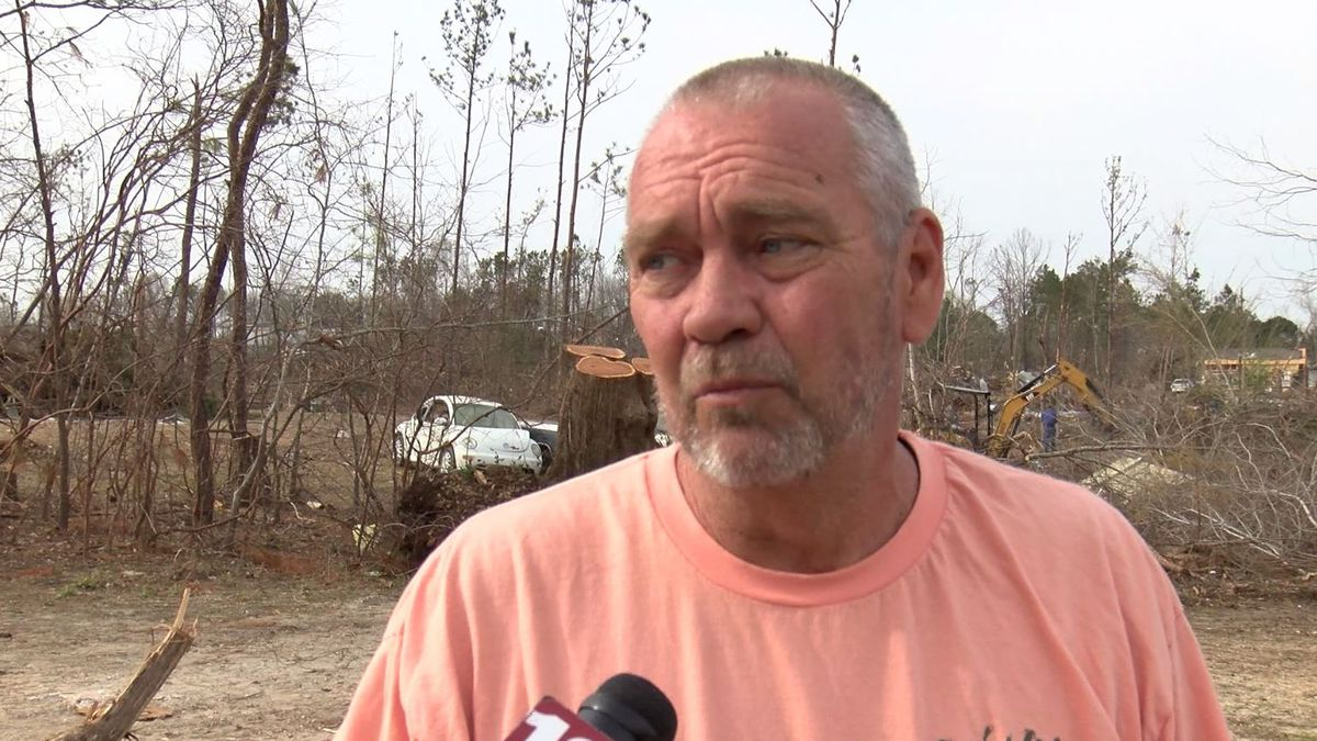 Man not sure how family survived Lee County tornado