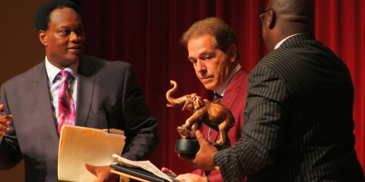 8th annual SportsVisions high school awards features Saban speech; Platta honored