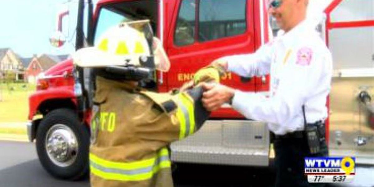Phenix City volunteer firefighters receive surprise thank-you