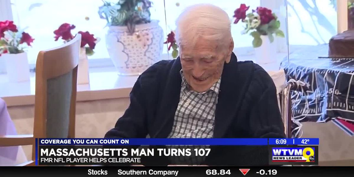 Power of Goodwill: Massachusetts man turns 107