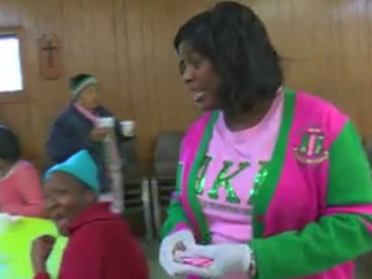 Alpha Kappa Alpha, Inc. holds multiple service projects in Columbus on Martin Luther King Jr. Day