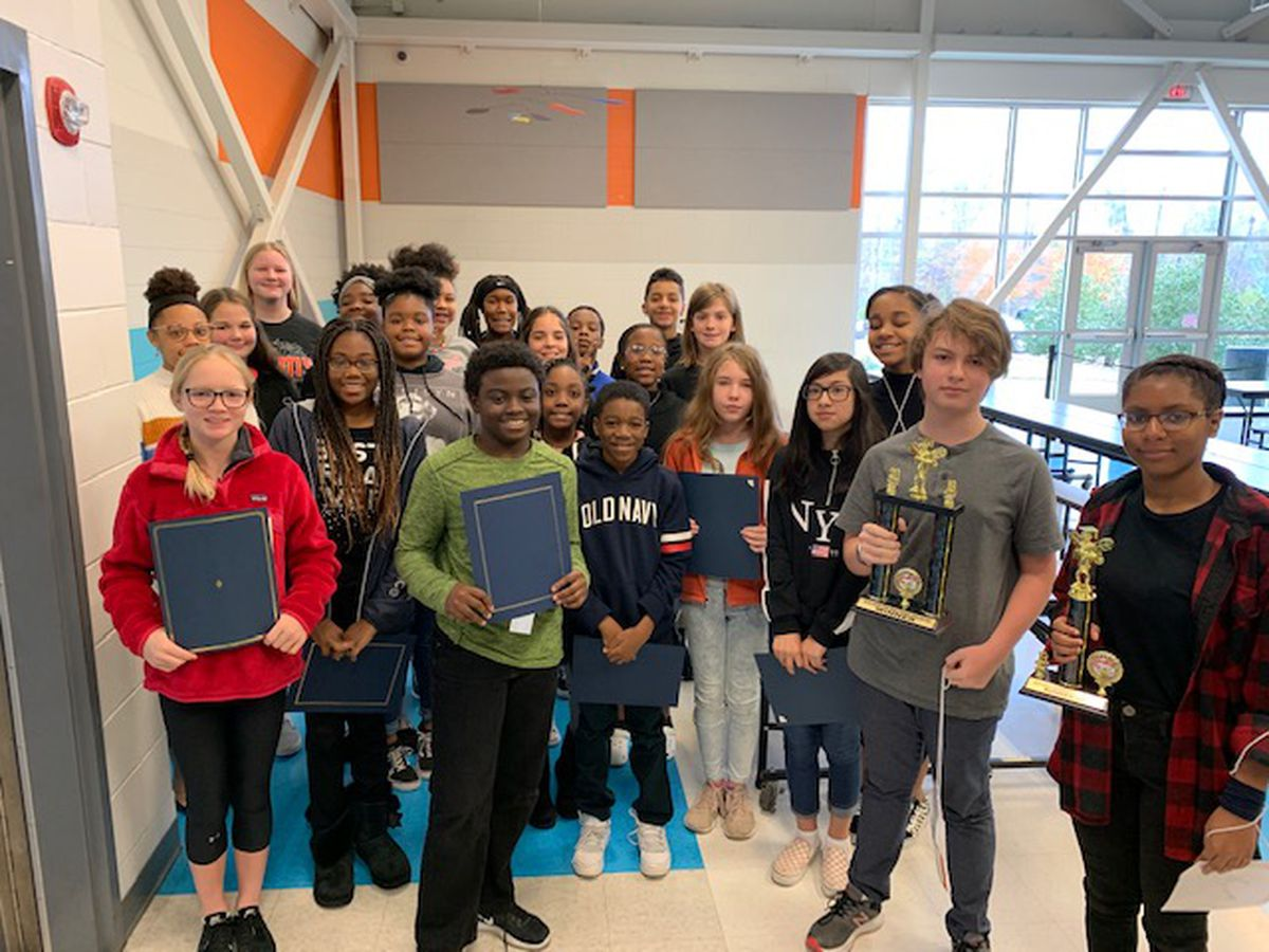 Aaron Cohn Middle School in Muscogee Co. names spelling bee winner