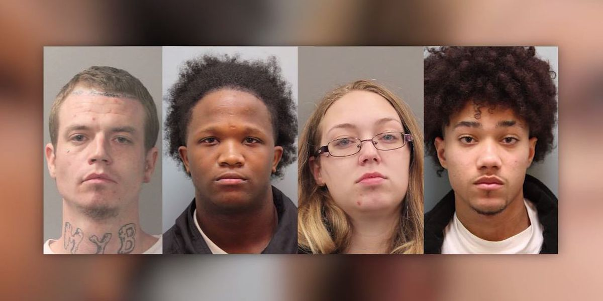 Toddler rescued after parents' car stolen from Texas gas station; 4 arrested