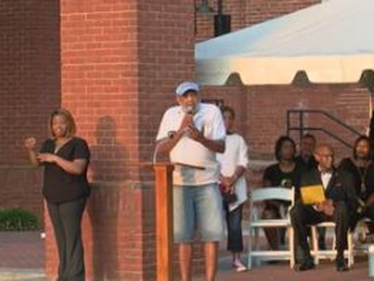 St. James CME Church in Columbus hosts 'Heal our Land' community vigil and rally