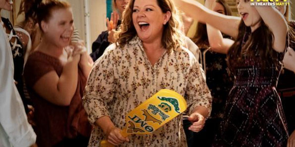 New movie starring actress Melissa McCarthy to premiere at Auburn