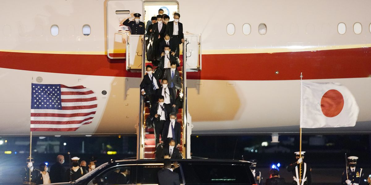 LIVE: Japan's leader urges strong alliance in White House visit