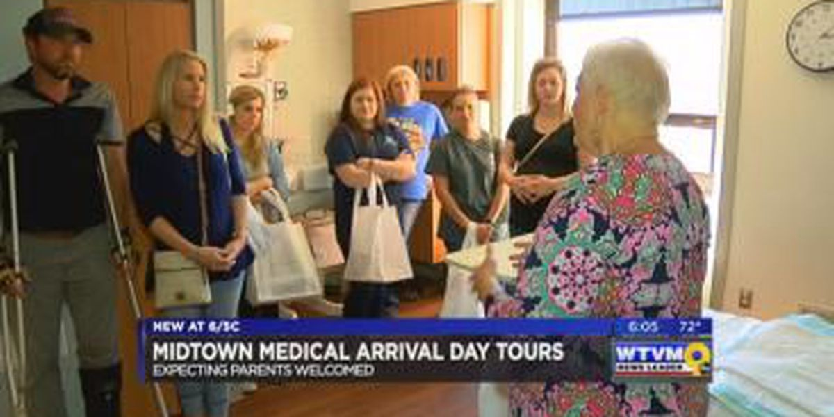 Expecting parents welcomed at Midtown Medical Arrival Day tours