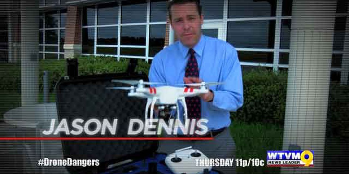 WTVM Special Report: Drone Dangers