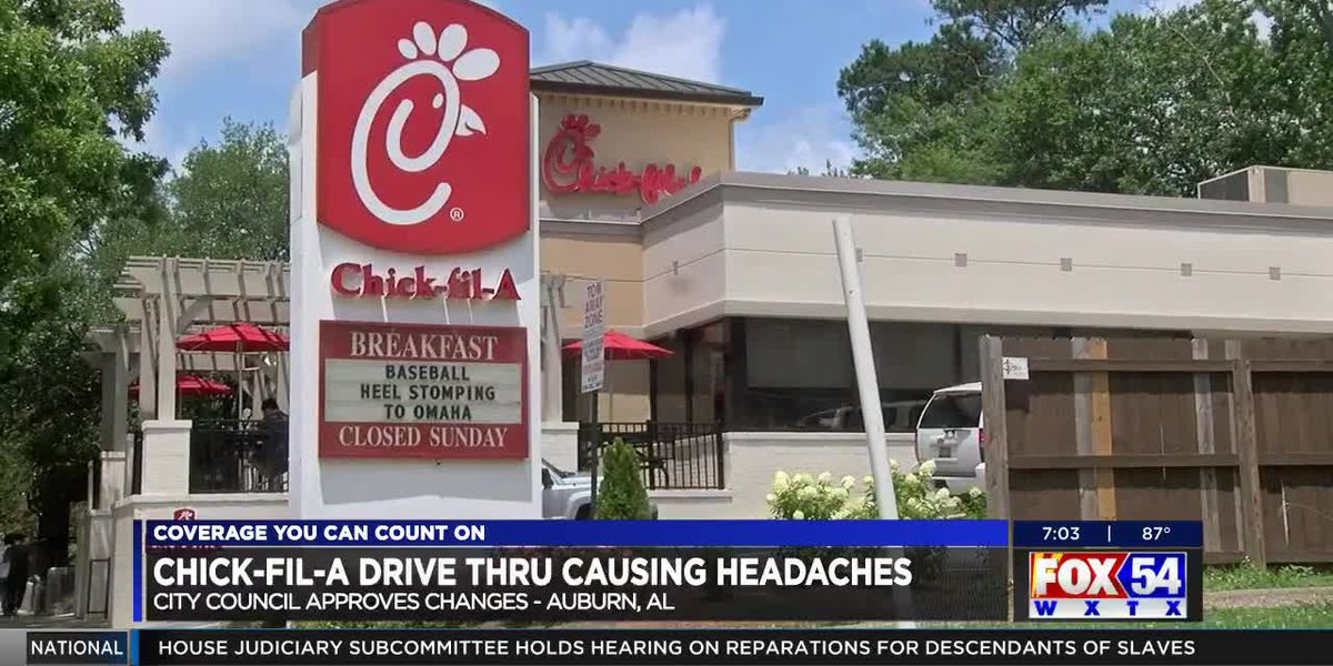 Auburn City Council approves proposal for new Chick-fil-A drive-thru on Magnolia Ave.