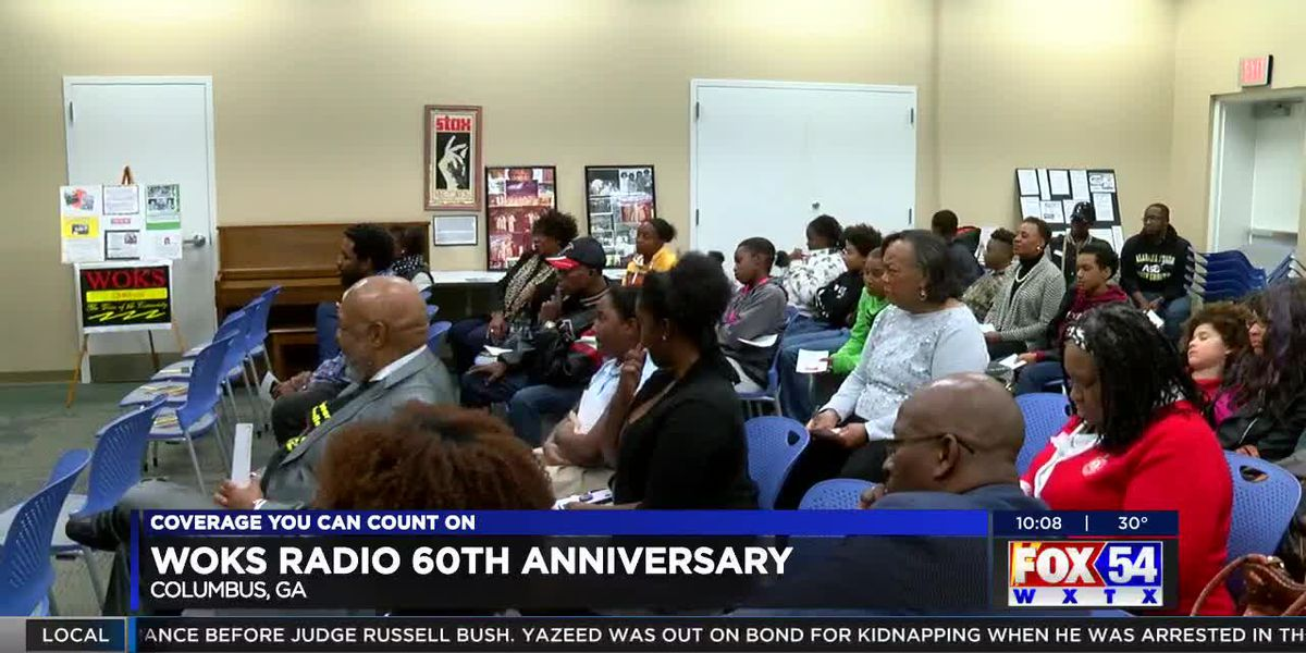 WOKS radio station in Columbus celebrates its 60th year anniversary