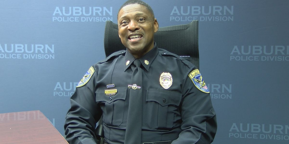 Meet Auburn's new police chief Cedric Anderson