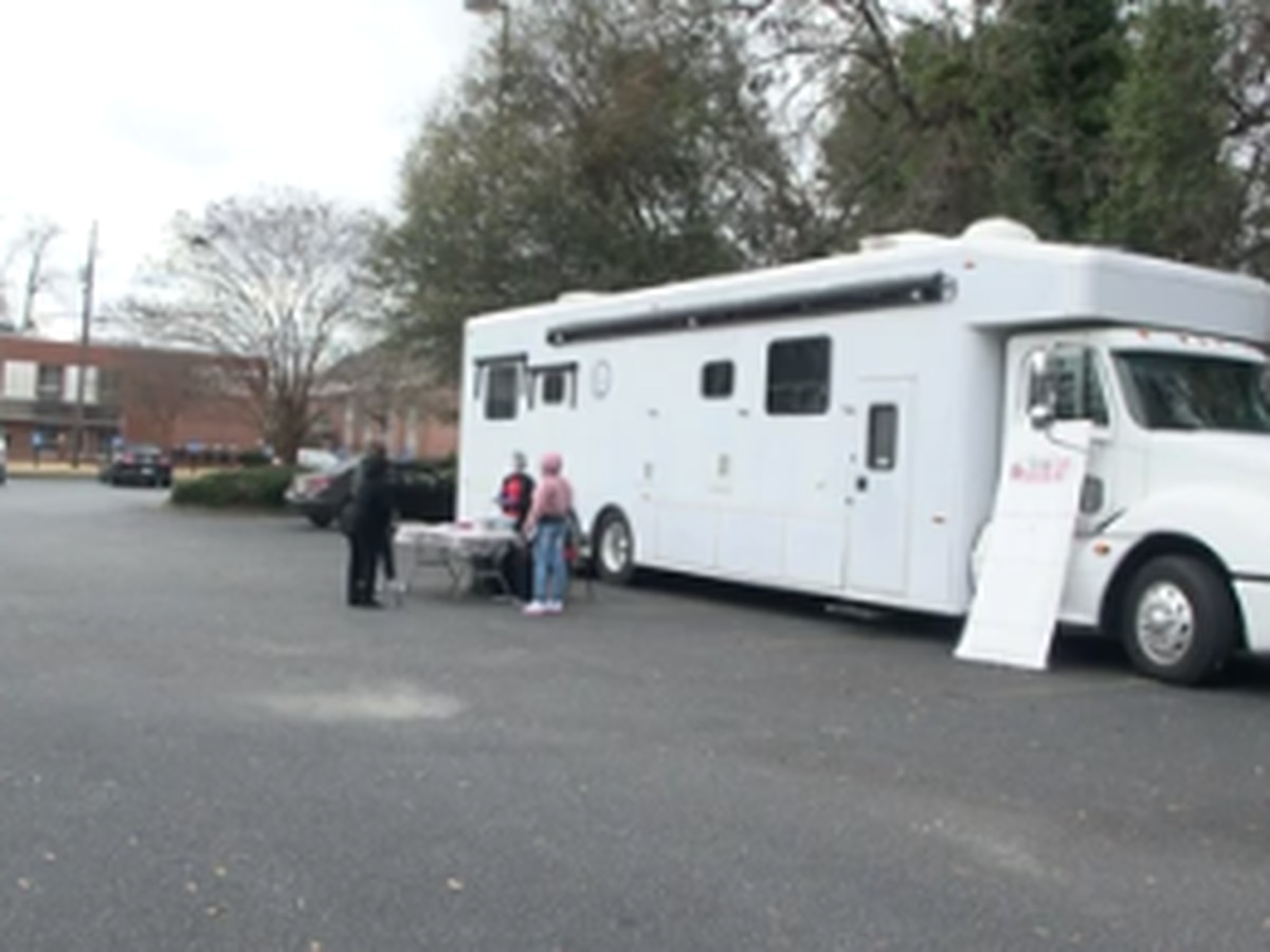 Sickle cell mobile clinic held at Columbus church