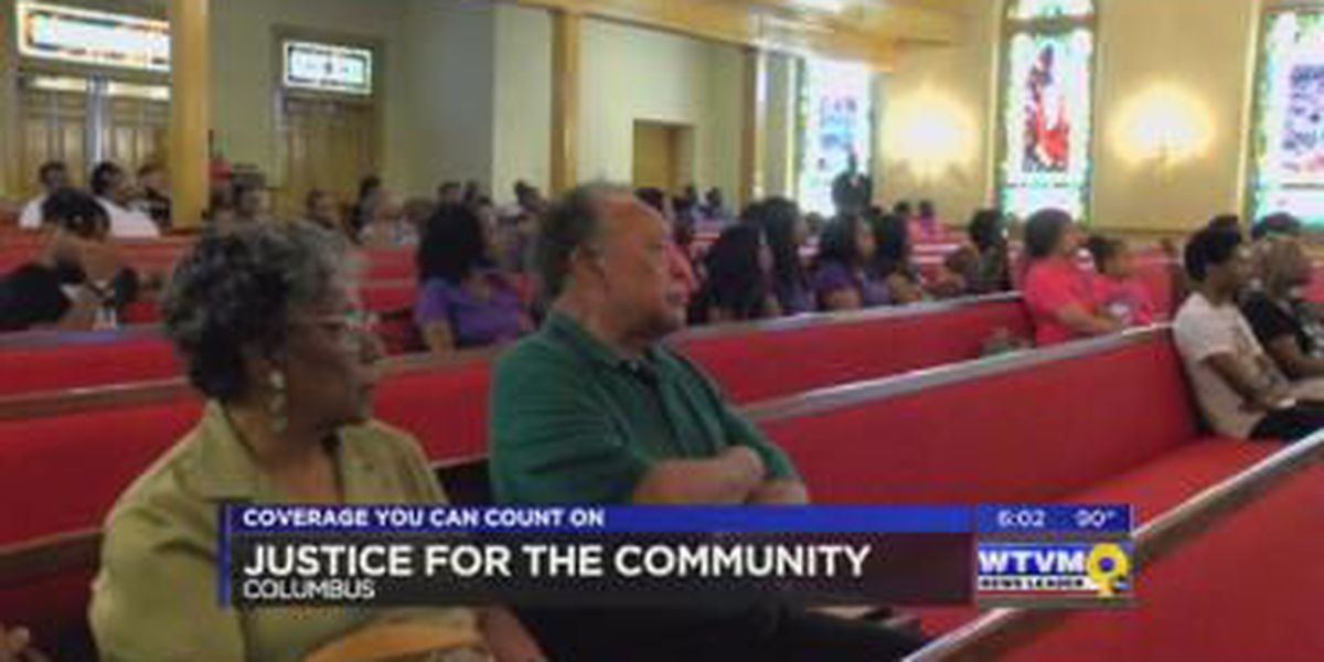 Peace rally to bring all races together held in Columbus