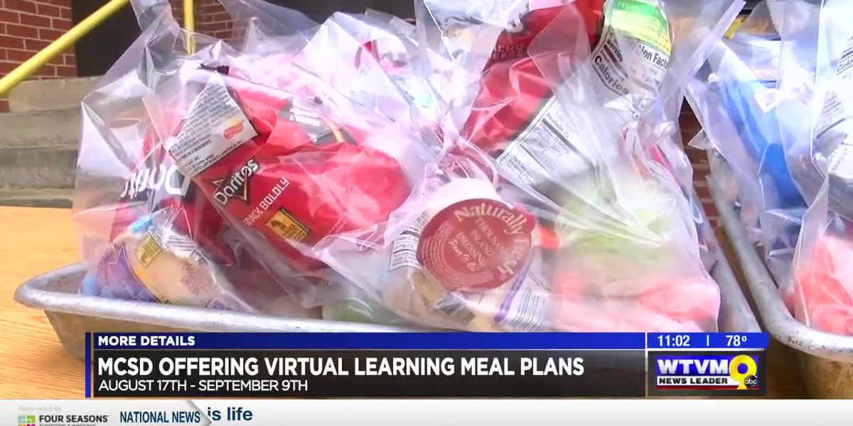 Muscogee County schools offering meal plans during virtual learning
