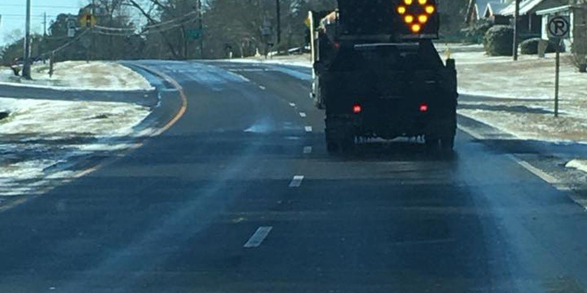 Impassable road advisory canceled in Eufaula