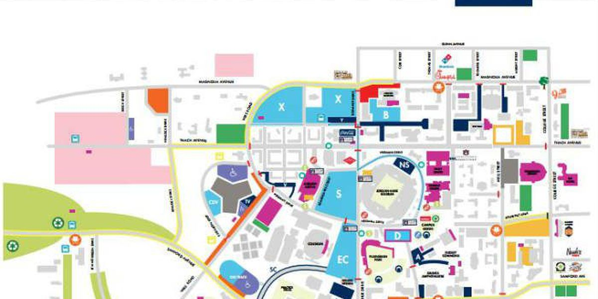 6 accessible parking lots available for 2016 Auburn football season
