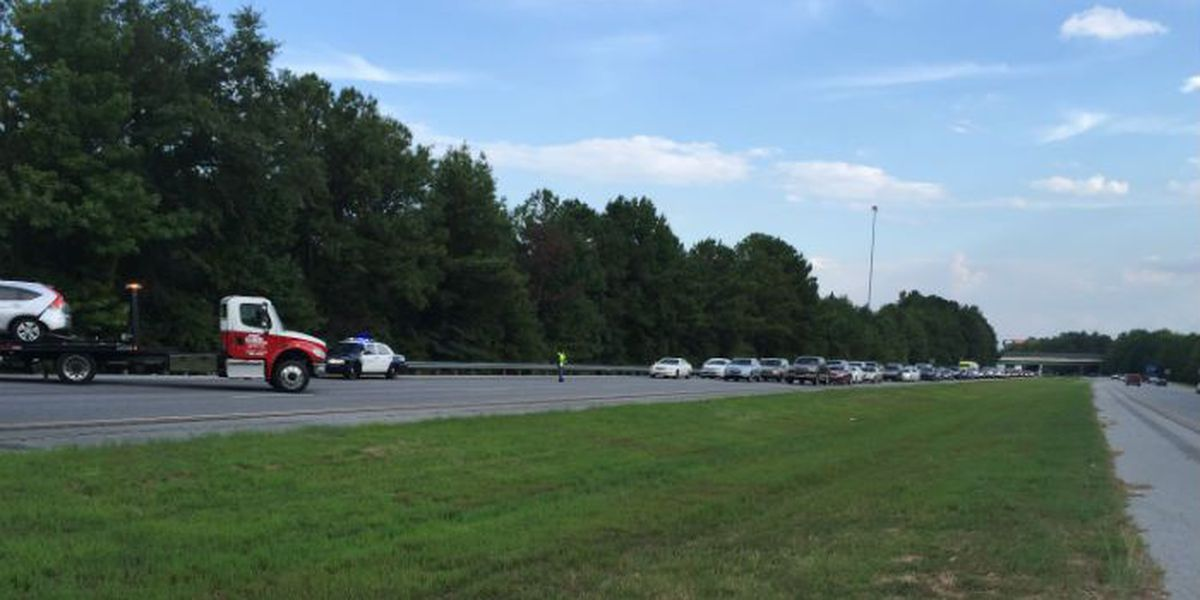 TRAFFIC ALERT: Multiple-car accident on I-185NB between exits 8 and 10