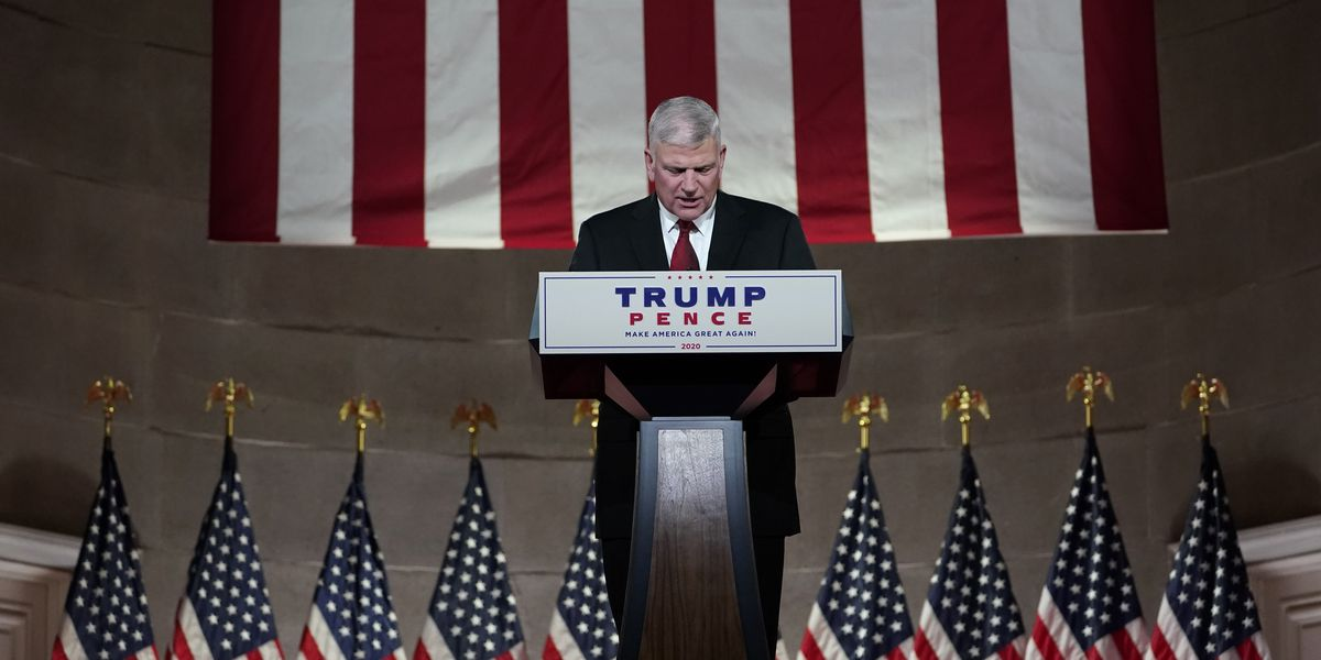Franklin Graham: History will remember Trump as one of the great presidents of our nation