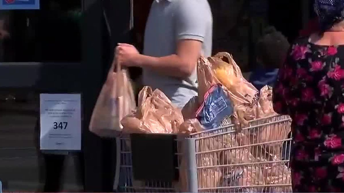 Local church holds grocery giveaway feeding over 75 families in Columbus