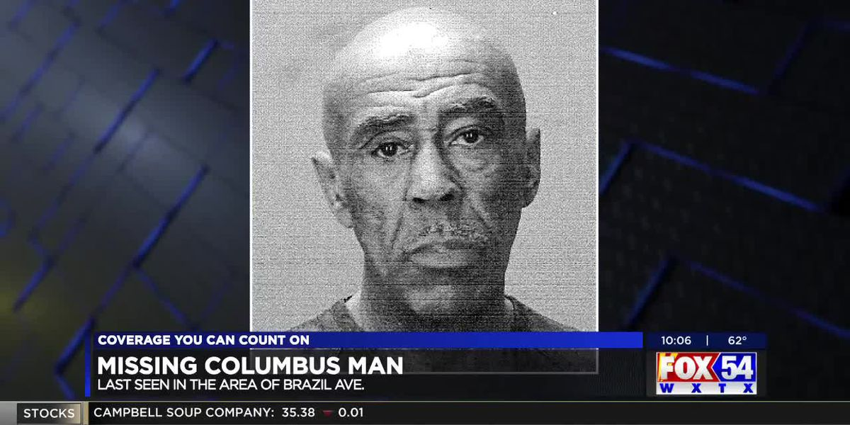 Columbus police searching for missing man last seen near Brazil Ave.