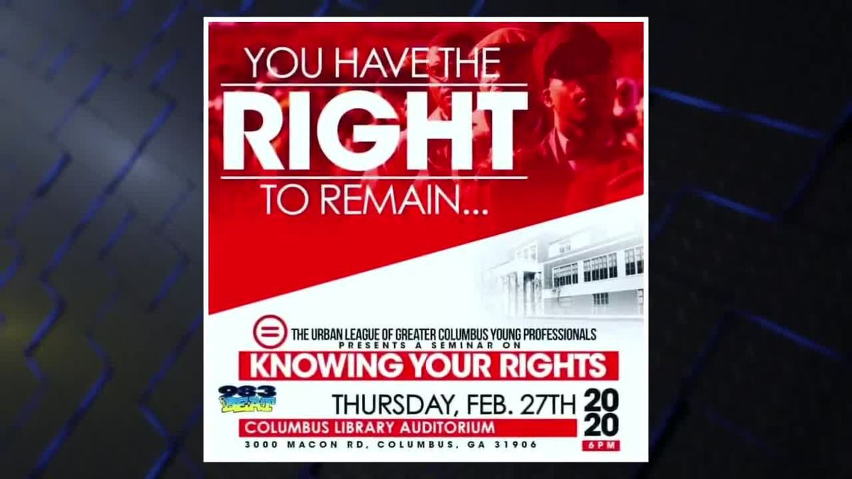 GUEST SEGMENT: Urban League Young Professionals want you to know your rights