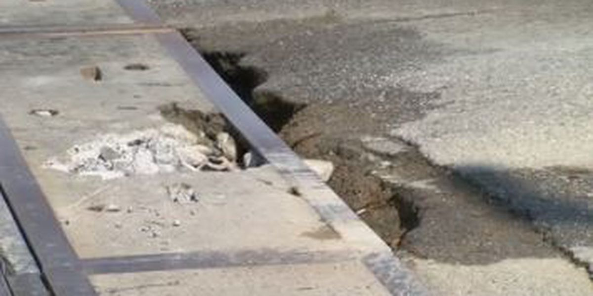 Pothole on Veterans Pkwy. and 9th St. in Columbus raises concerns for drivers