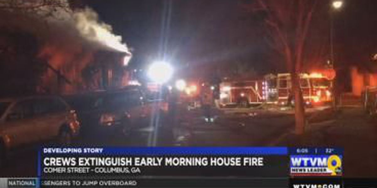 UPDATE: Fire officials confirm cause of house fire near Comer St.
