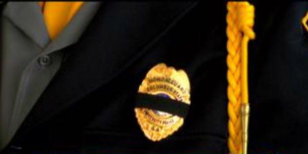 Ceremony held honoring fallen officers