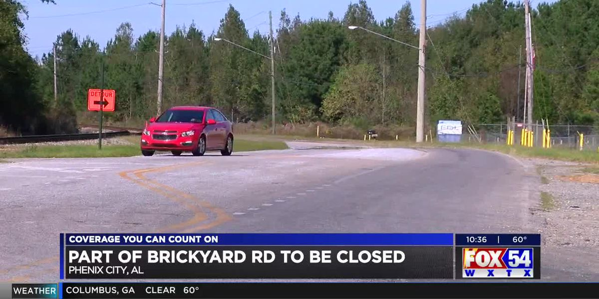 TRAFFIC ALERT: Brickyard Rd. to close down for construction