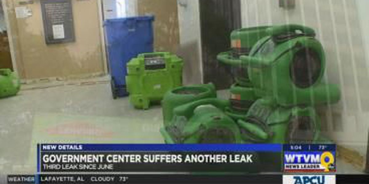 VIDEO: Columbus Government Center suffers third round of water damage in three months