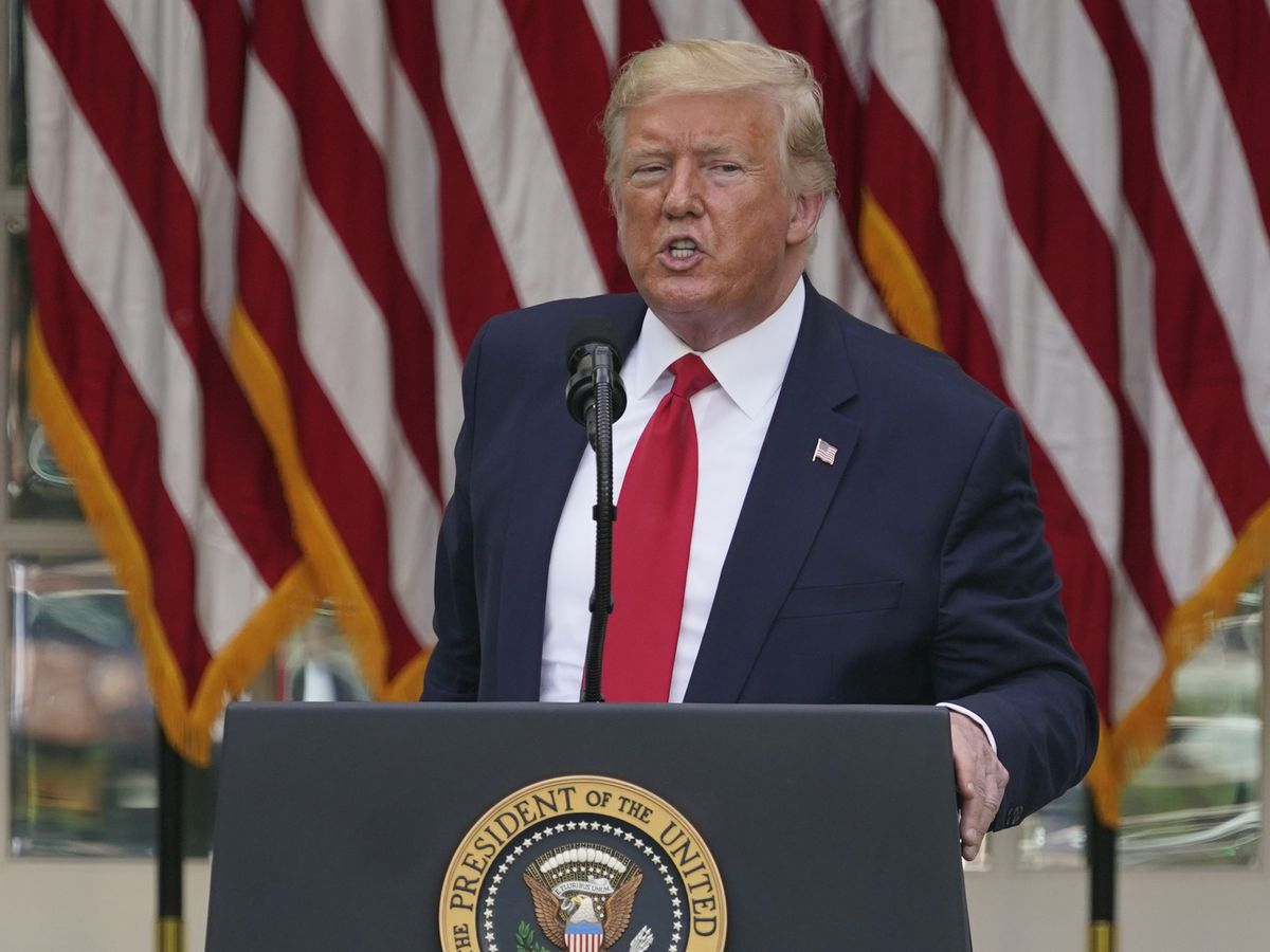 Trump walks back his incendiary Minneapolis 'thugs' post