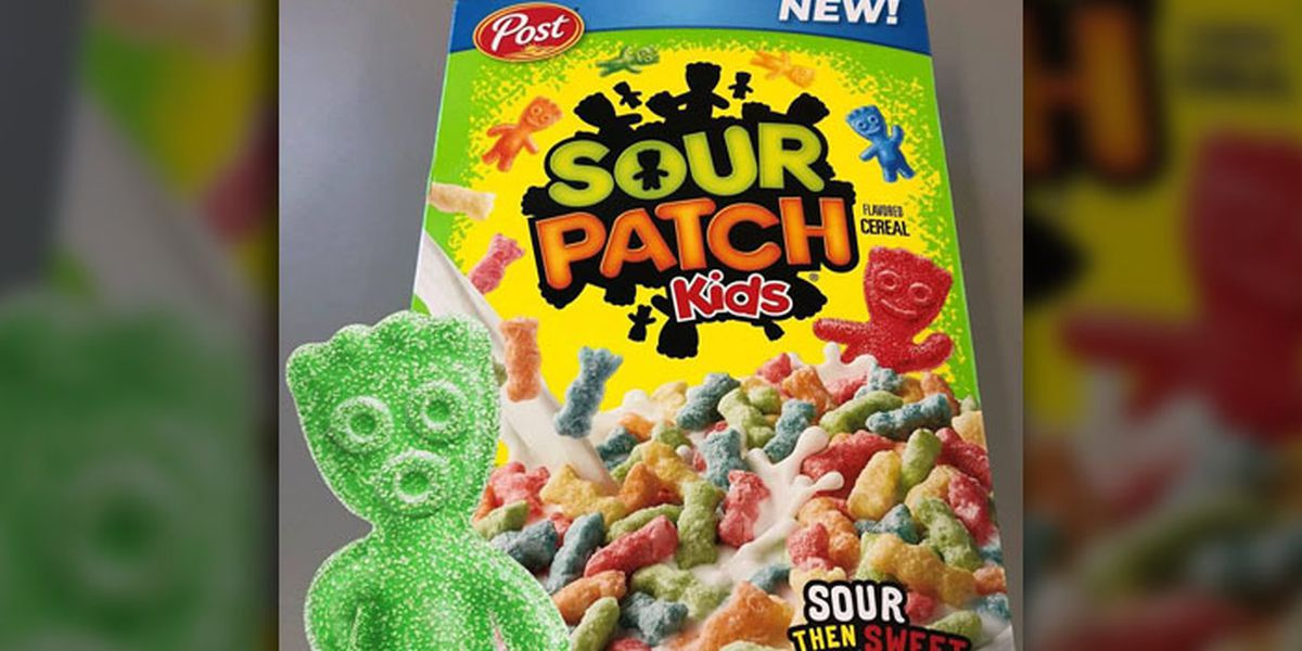 sour patch kids flavored cereal is real and it ll be here next month