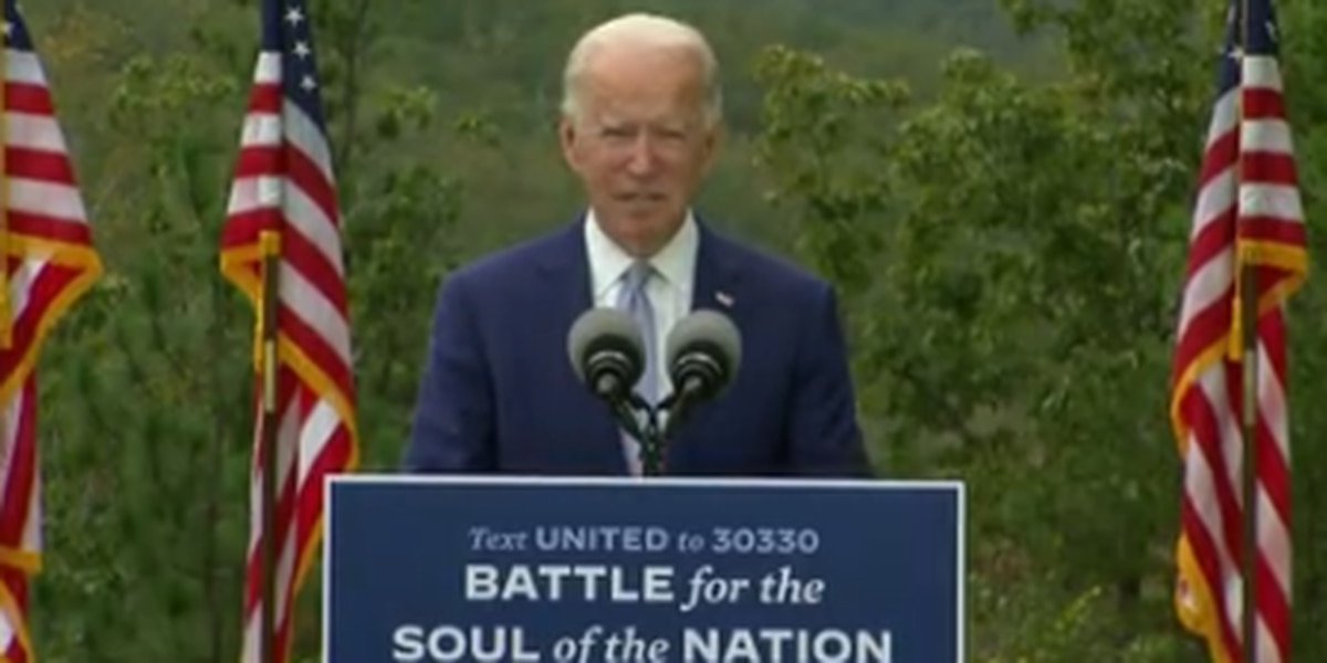 Joes Biden visits Warm Springs, Ga.