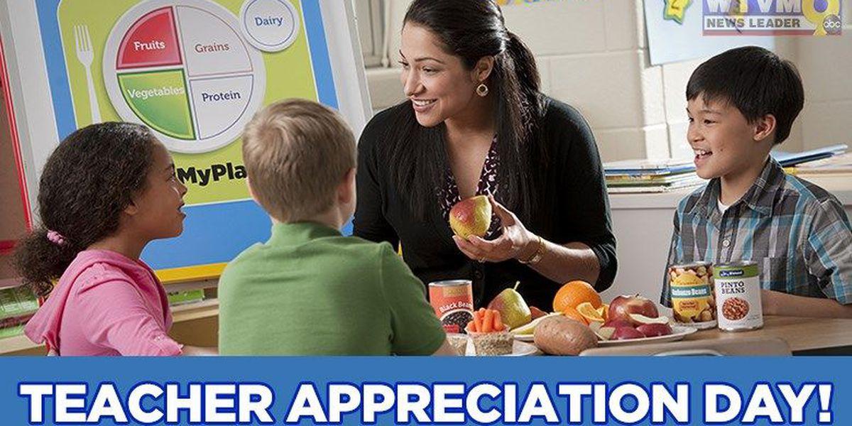 May 2-6 is Teacher Appreciation Week