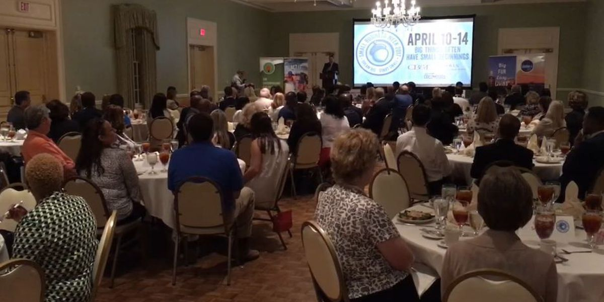 Small business awards reception held in Columbus