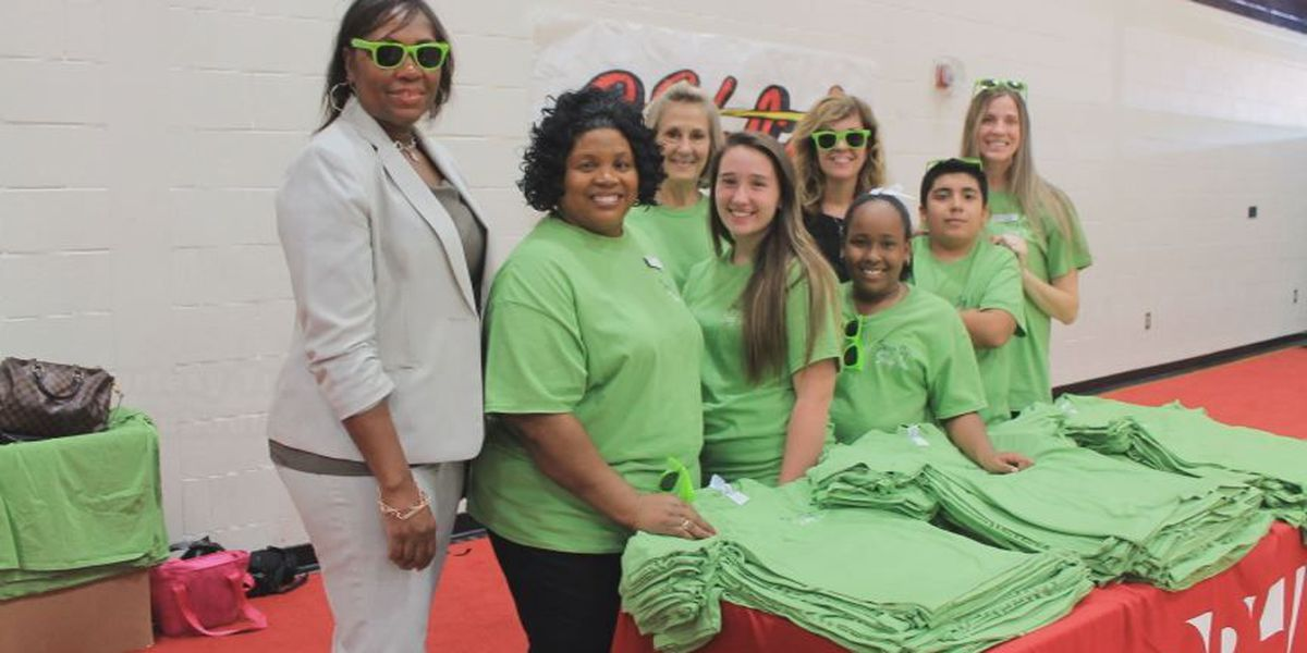 Callaway Middle students take stand against bullying