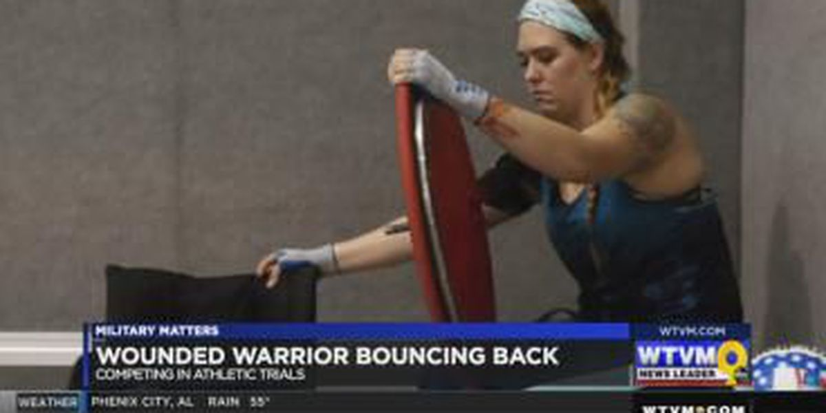 Military Matters: Wounded Warrior competing in athletic trials