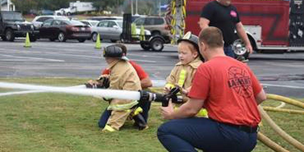 Hundreds participate in LaGrange Fire Department Citizens Day