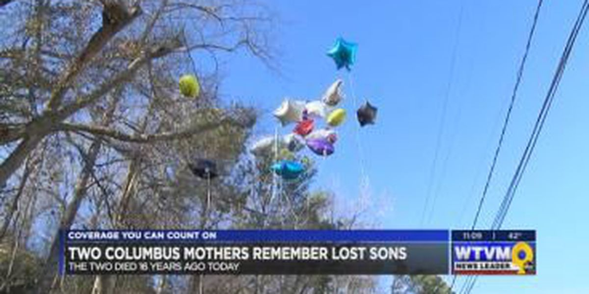 Balloon release held in remembrance of 2 Columbus car crash victims