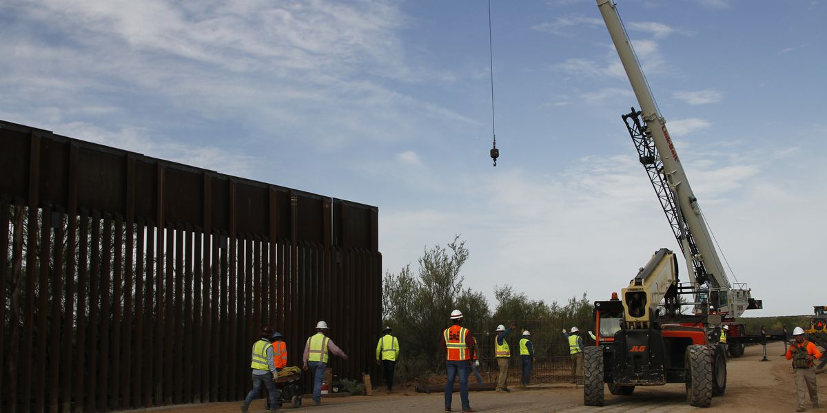 Work on more border wall starts in Arizona, New Mexico